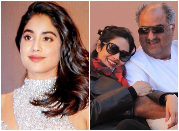 Janhvi Kapoor shares adorable throwback picture on parents