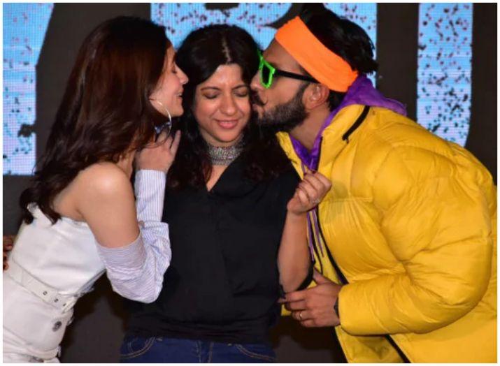 India Tv - Alia Bhatt, Zoya Akhtar and Ranveer Singh