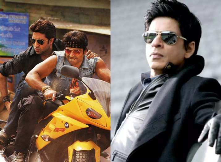 Shah Rukh Khan to star next in Abhishek Bachchan's Dhoom 4?