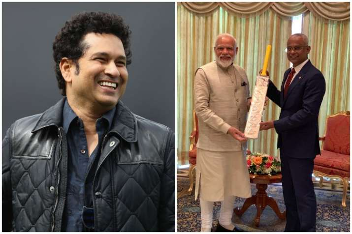Sachin Tendulkar Narendra Modi