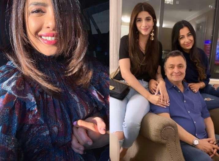 Priyanka's sunkissed selfie, Pak actor Mawra Hocane visits Rishi Kapoor In NYC