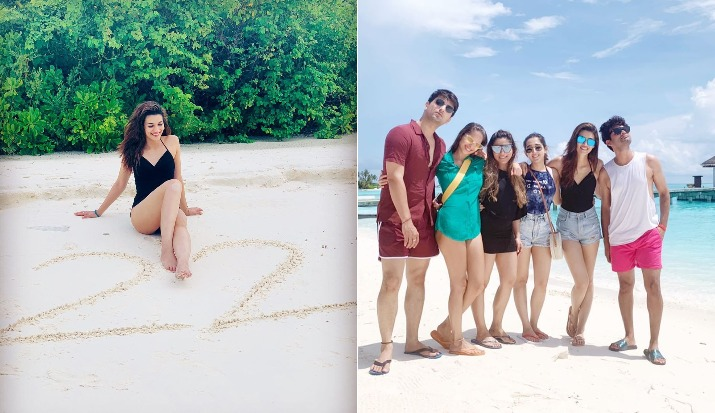 Kriti Sanon's beach time in Maldives with close friends gives us major vacation goals; See Pics