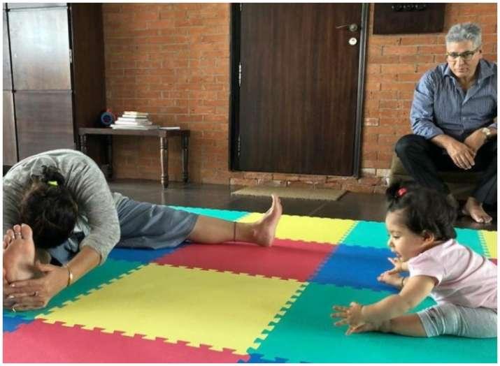 inaaya yoga day