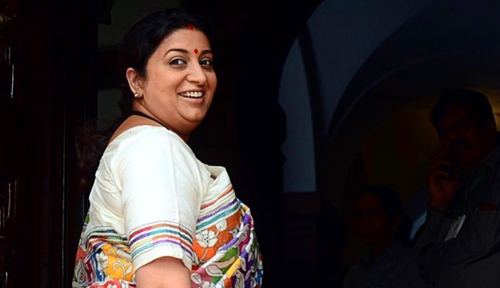 Smriti Irani asks for a hug as she is missing her home-
