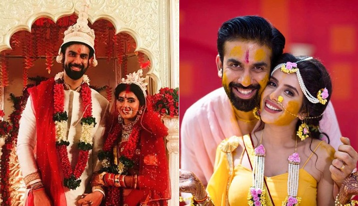 Inside pictures of Sushmita Sen's brother Rajeev Sen and Charu Asopa's Goa wedding