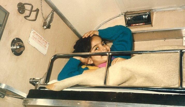Sonam Kapoor misses train journey, shares adorable childhood picture