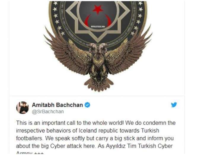 India Tv - Amitabh Bachchan Twitter hacked