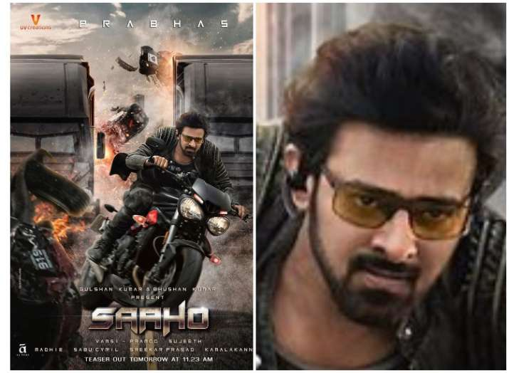 Ahead of teaser release, Prabhas rides into the world of