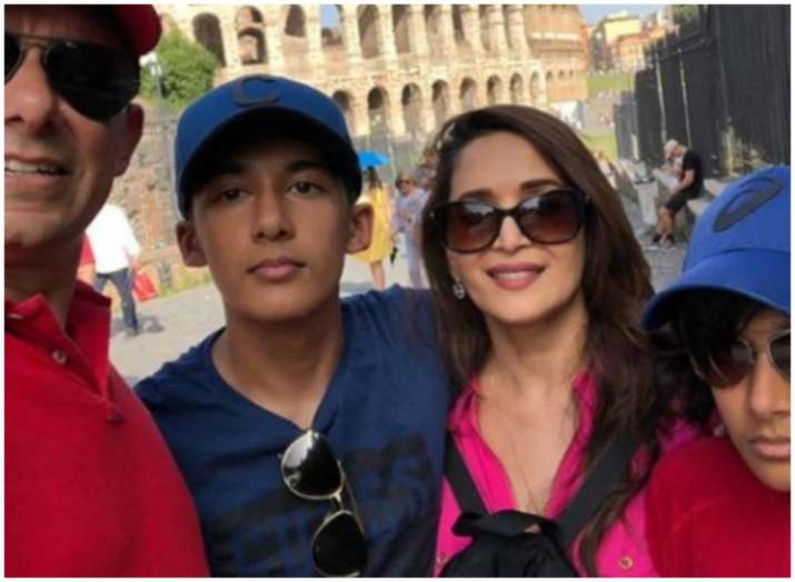 Madhuri Dixit's Rome vacation with family is simply