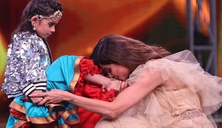 Super Dancer Chapter 3 winner: Shilpa Shetty kisses Rupsa