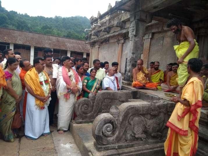Karnataka minister and Congress leader DK Shivakumar