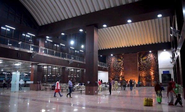 Newly opened Manduadih railway station in Varanasi