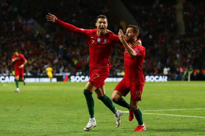 Cristiano Ronaldo's hat-trick sends Portugal into UEFA Nations League final