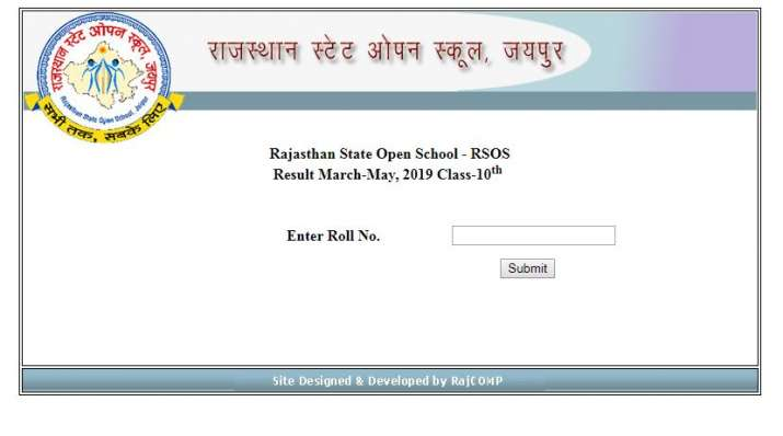 RSOS Class 10 Results 2019 Declared