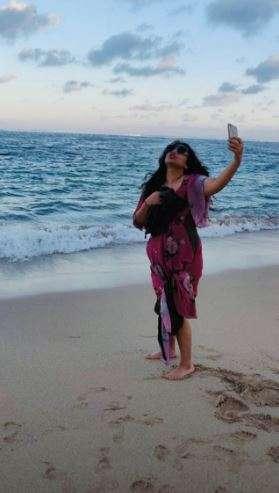 India Tv - Vidya Balan's Bali vacation pictures