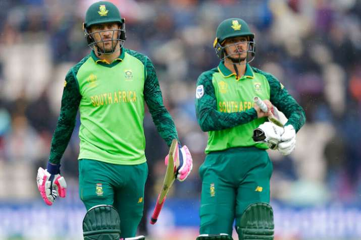 2019 World Cup, SA vs WI: Match abandoned as rain gives South Africa first point in tournament