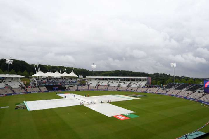 2019 World Cup: Heavy rain forecast ahead of India vs New Zealand game