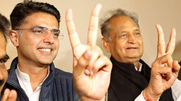 CM Gehlot with Dy CM Sachin Pilot