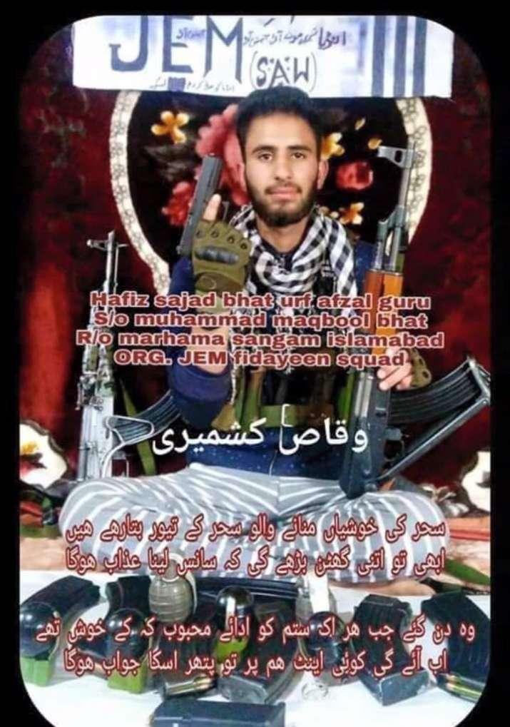Jaish-e-Mohammed commander Sajjad Bhat