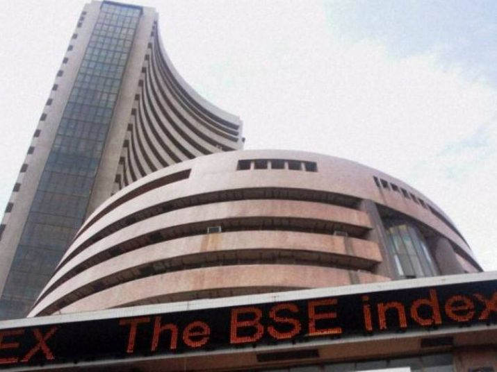 Sensex drops over 289 points amid weak global cues