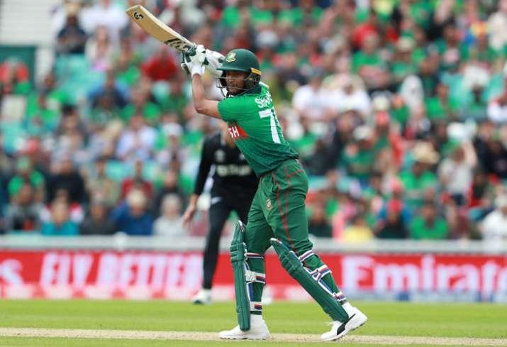 Shakib Al Hasan becomes first Bangladesh cricketer to score 1000 runs in World Cup