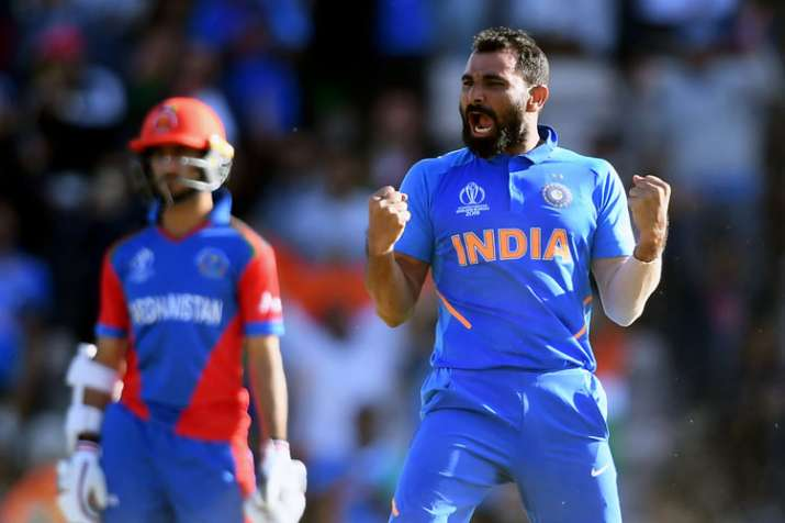 India vs Afghanistan: Mohammed Shami becomes 2nd Indian to grab hat-trick in World Cup | Cricket News – India TV