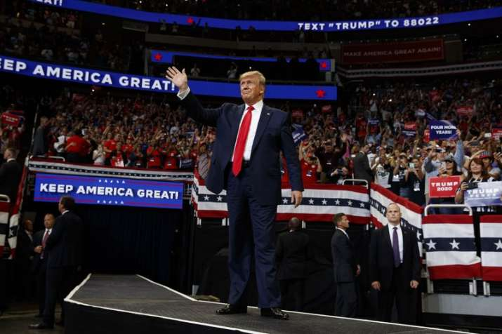 Donald Trump launches 2020 re-election campaign in mega rally, says