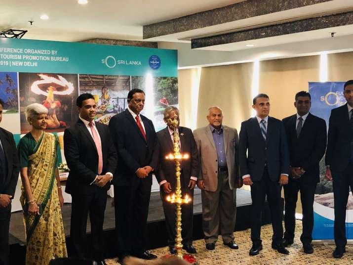 Tourism Minister of Sri Lanka John Amaratunga with High