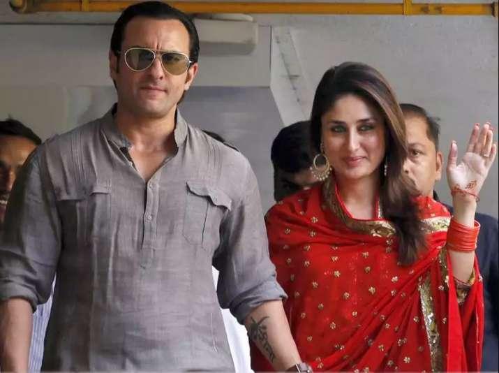 India Tv - Saif Ali Khan and Kareena Kapoor Khan wedding