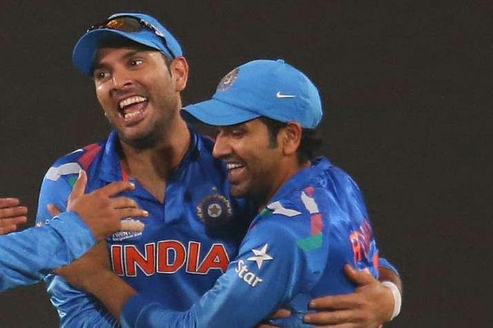 Rohit Sharma believes Yuvraj Singh deserved a better farewell; Yuvi responds