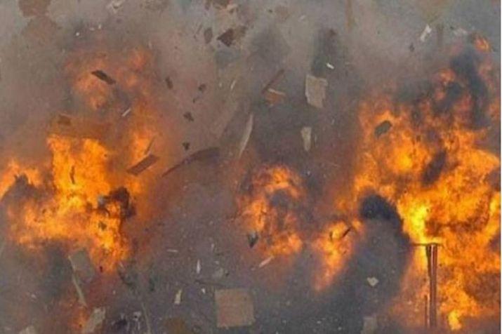 Businessman sets himself on fire inside police station in