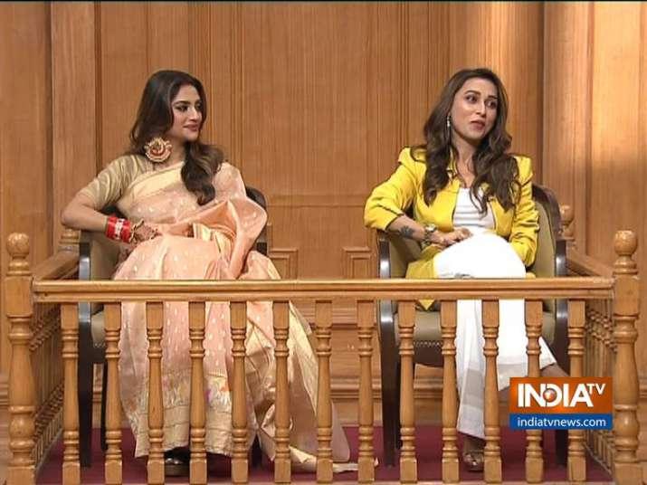 Nusrat, Mimi in Aap Ki Adalat: Mamata Didi performs Chandi