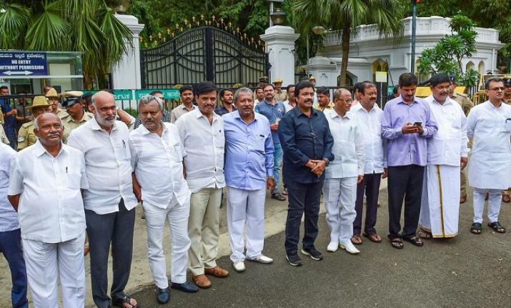 Senior Congress leaders accuse BJP of hatching conspiracy