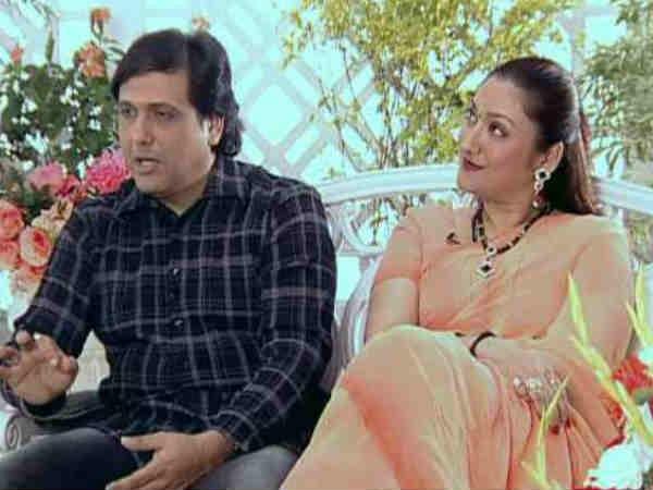 India Tv - Govinda and wife Sunita