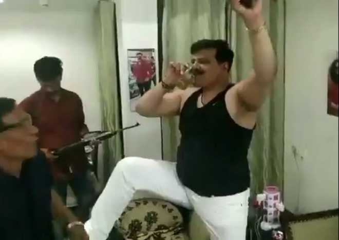 Arms licences of Uttarakhand MLA seen dancing with guns