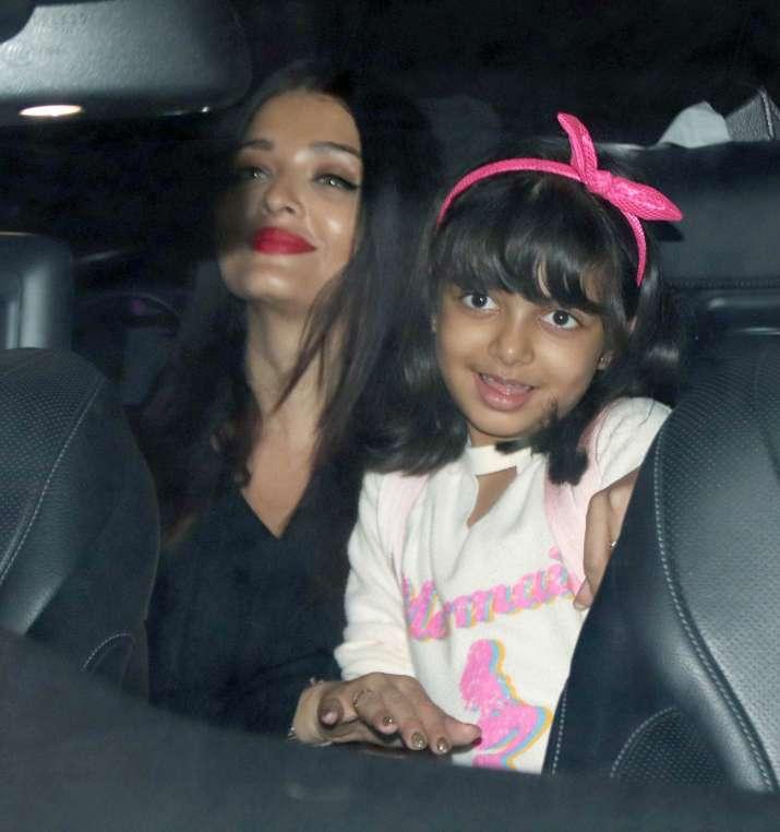 India Tv - Aishwarya Rai Bachchan returns back with Abhishek and Aaradhya