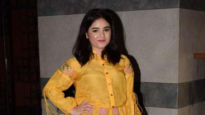 India Tv - Zaira Wasim