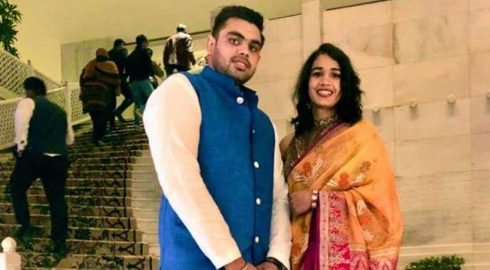 India Tv - Babita Phogat and Vivek Suhag