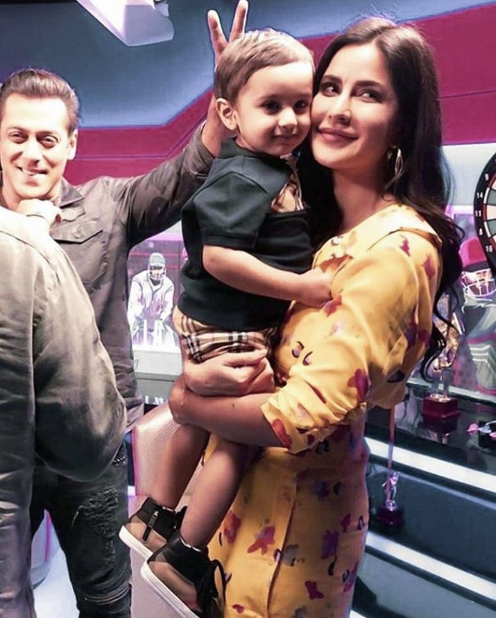 India Tv - Katrina and Salman during Bharat promotions