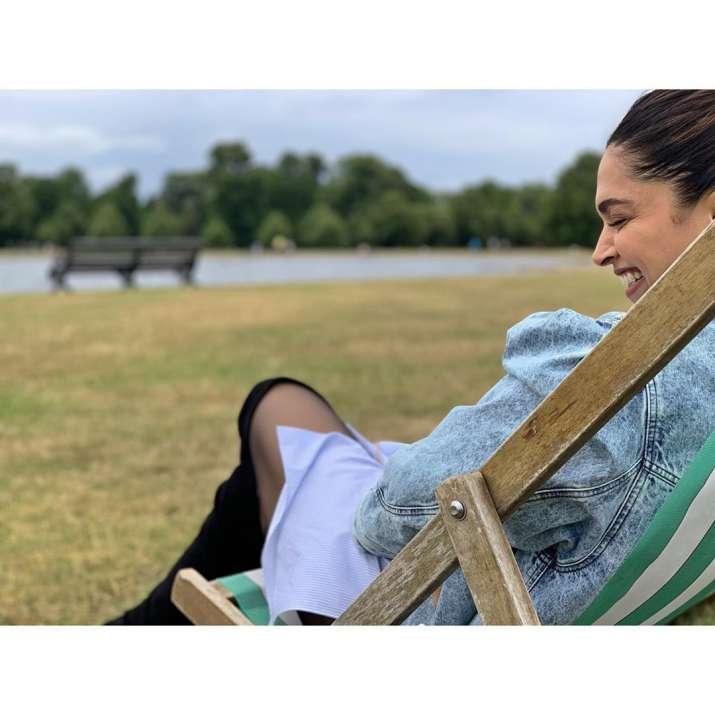 India Tv - Ranveer Singh shares Deepika Padukone's pic on Instagram