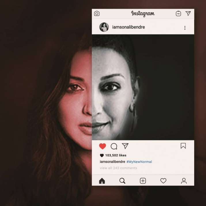 India Tv - Sonali Bendre's creative post will give you goosebumps