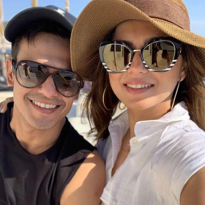 India Tv - Drashti Dhami and husband Neeraj Khemka