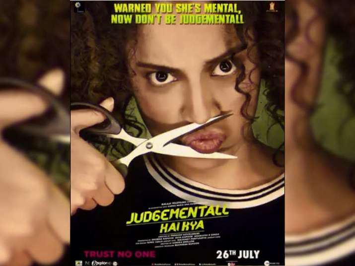 India Tv - Judgementall Hai Kya Movie poster