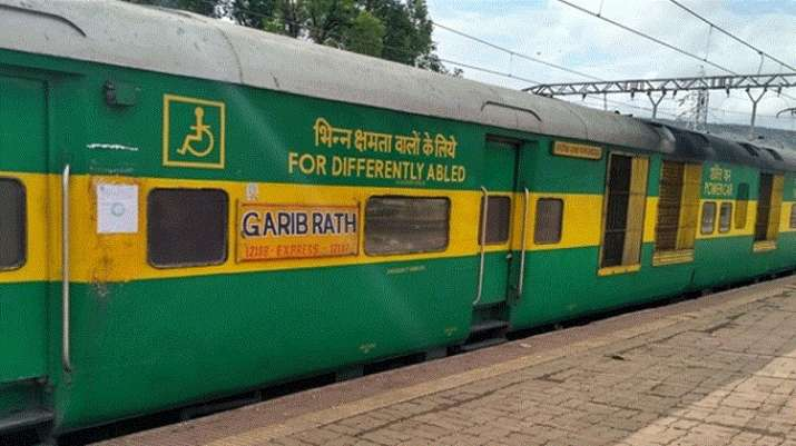 Image result for garib rath for disabled