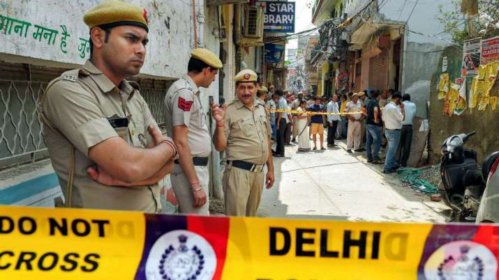 Temple vandalised in central Delhi after communities clash