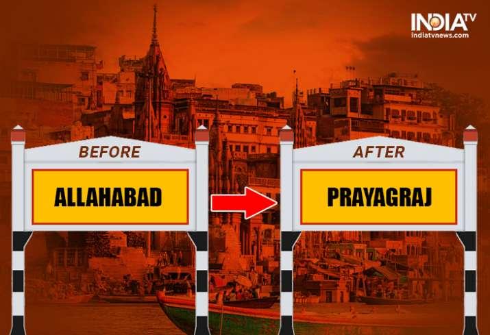 Procedure of renaming states, cities in India