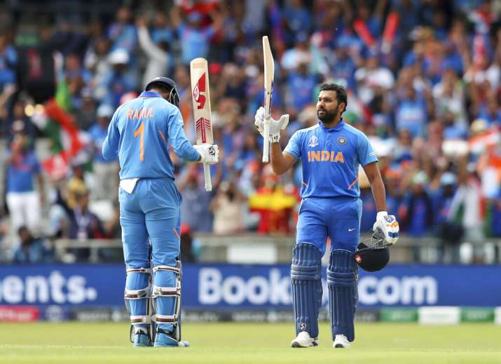 India vs Sri Lanka, 2019 World Cup: Rahul, Rohit tons guide India to comfortable 7-wicket win over S