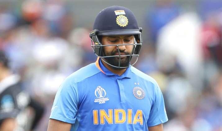 India Tv - Rohit Sharma was dismissed on 1.