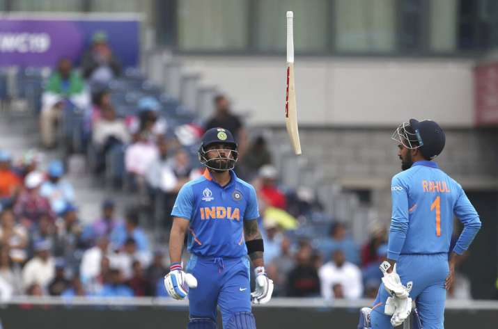 The Kiwi bowlers spat fire, removing both, Rohit Sharma and