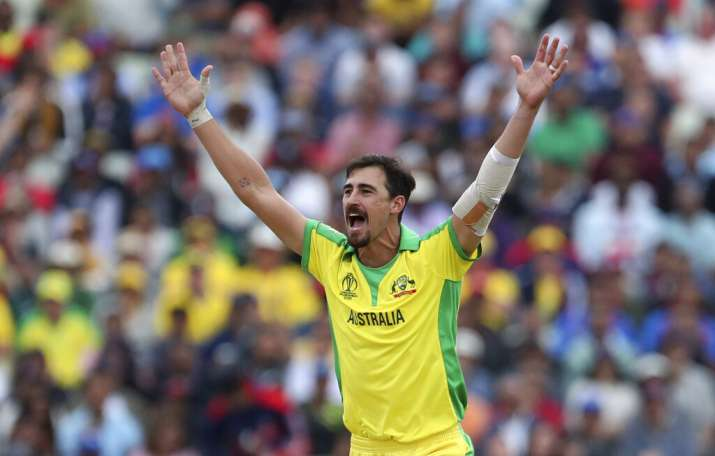 India Tv - The Aussie pacer ended the tournament as the highest wicket-taker.